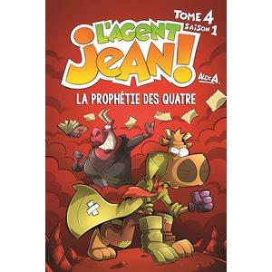 AGENT JEAN! S1 T4: LA PROPHETIE DES QUATRE (PR.AVENTURE)