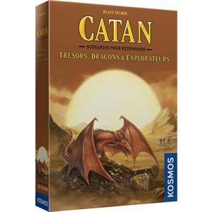 CATAN EXTENSION: TRESORS, DRAGONS ET EXPLORATEURS