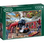 1000PC WAITING ON THE PLATFORM