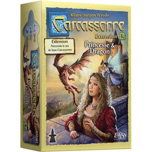CARCASSONNE EXT: #3 PRINCESSE ET DRAGONS
