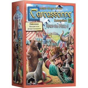 CARCASSONNE EXT: #10 TOUS EN PISTE
