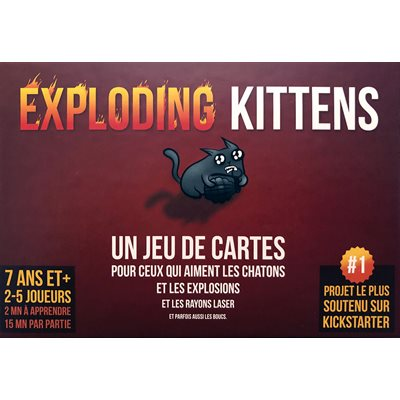 EXPLODING KITTENS (FRANCAIS)
