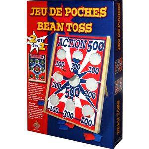 JEU DE POCHES 2 EN 1 ACTION 500