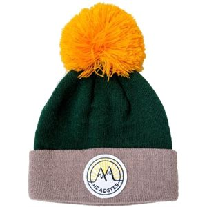 TUQUE BIG PATCH MOUNTAIN GREY S / M