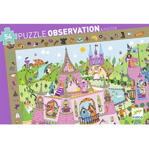 PUZ. OBSERVATION / PRINCESSES / 54 PCS