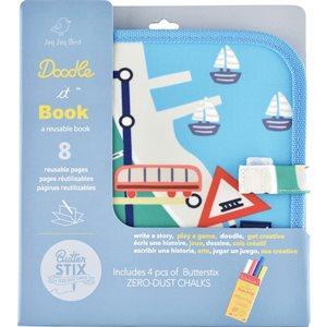 DOODLE IT BOOK TRAINS (ML)