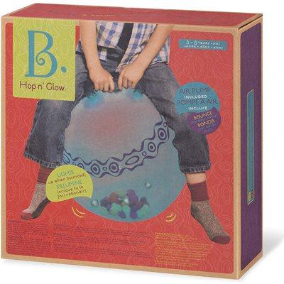 B.BRAND-BALLON SAUTEUR HOP NGLOW BLEU