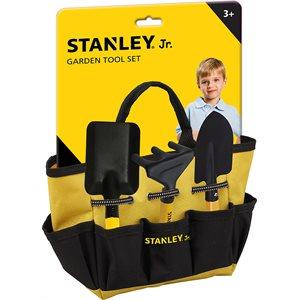 STANLEY JR. ENS. JARDINAGE 4PCS & SAC DE TRANSPORT