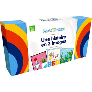 PASSE-PARTOUT: UNE HISTOIRE EN 3 IMAGES