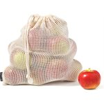 SACS REUTILISABLES POUR FRUITS / LEGUMES 4PCS
