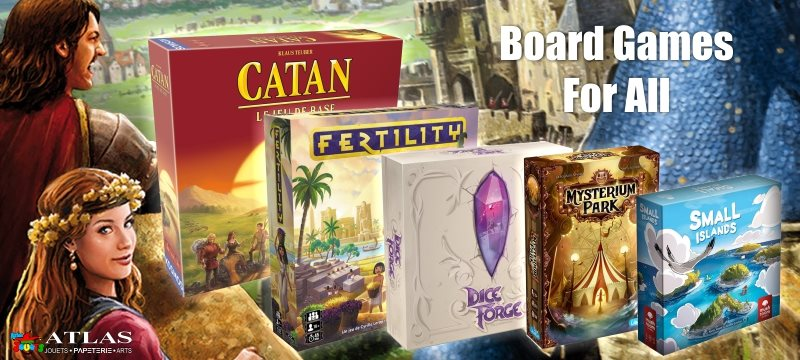 Browse through our wide selection of board games