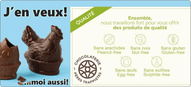 Achetez du chocolat de Pâques